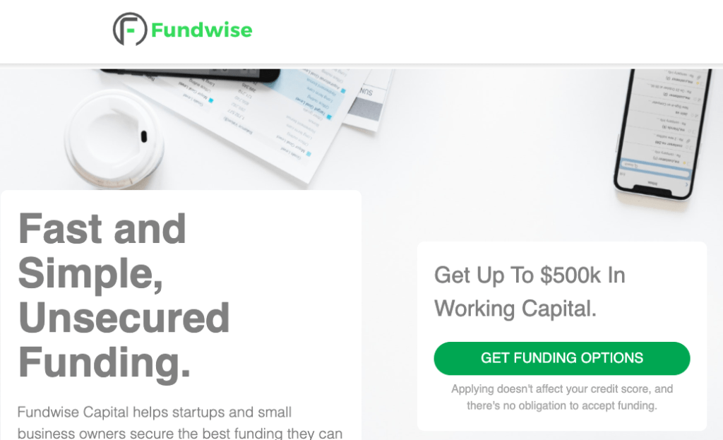 Fundwise Capital-Business Funding Team-Get the best business funding available for your business, start up or investment. 0% APR credit lines and credit line available. Unsecured lines of credit up to 200K. Quick approval and funding.